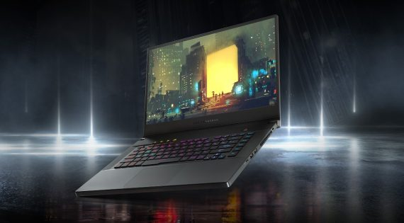 Ultra-Slim yet Powerful Gaming Laptop ROG Zephyrus M GU502