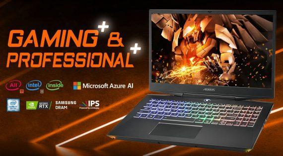 Quickview for Gigabytes Aorus 15 RTX 20 Series Laptop