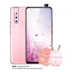 Gorgeously VIVO V15 Limited-Edition Blossom Pink