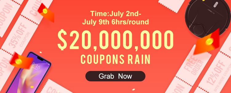 Grab your coupons now for Banggood's Summer Prime Sale