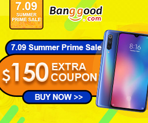 Banggood 2019 Summer Prime Sale Main Venue