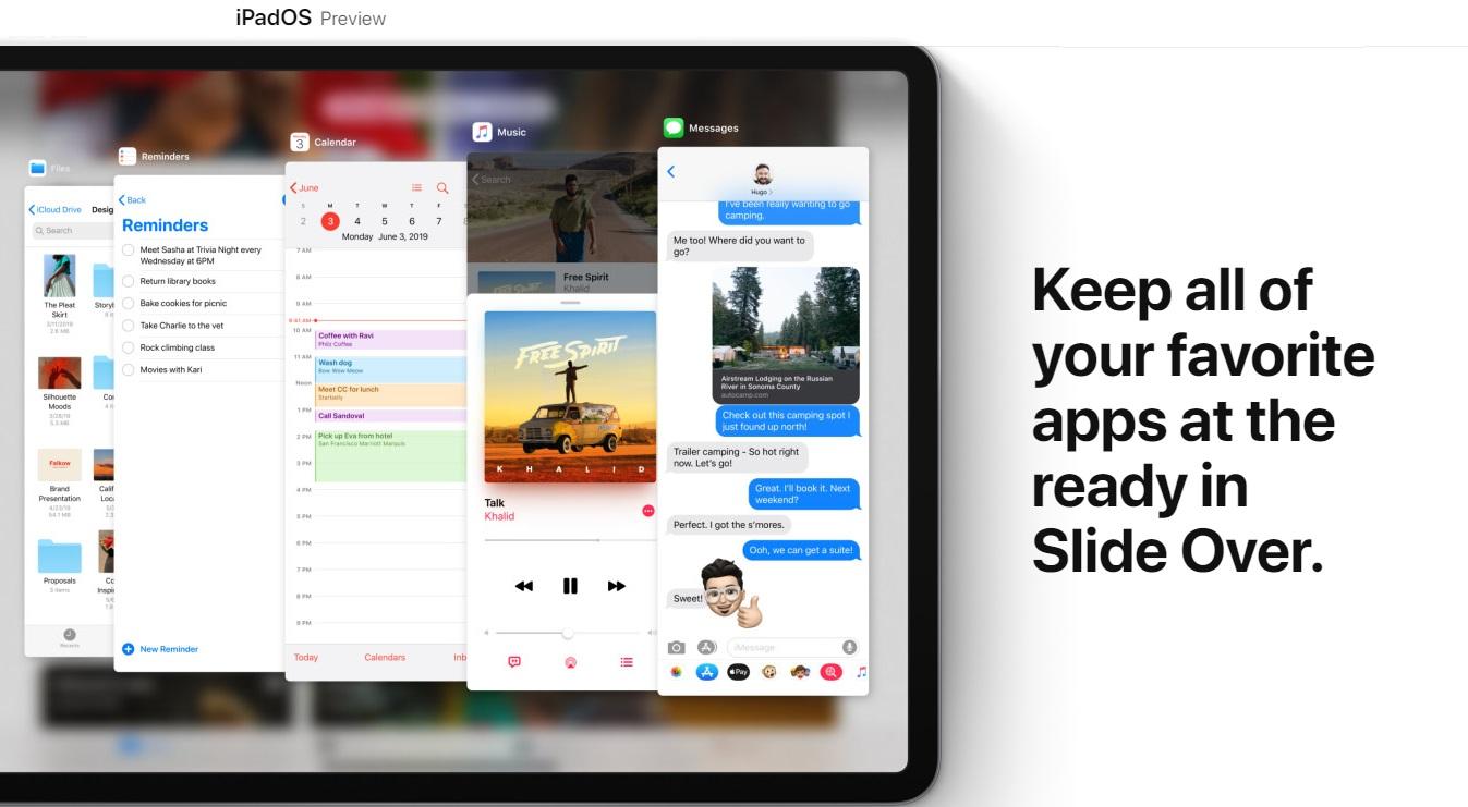 Apple Reveals iPadOS
