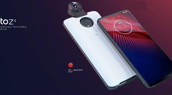 Motorola Moto Z4 is Power Efficient