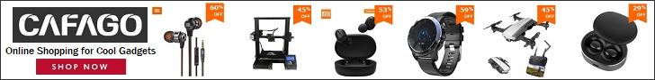 Shop your cool gadgets only at CAFAGO.com
