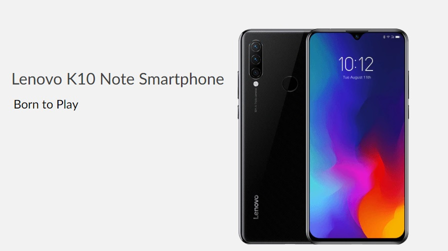 Lenovo K10 Note is Just Right