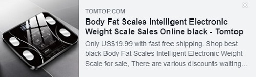 Body Fat Scales Intelligent Electronic Weight Scale    Price: $19.99