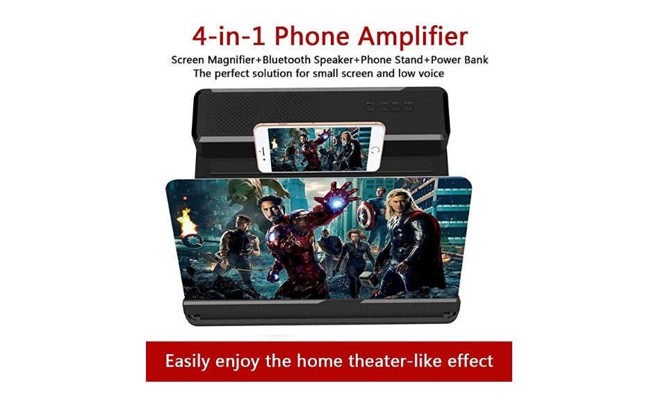 Mobile Phone Screen Magnifier For Movie Fanatics