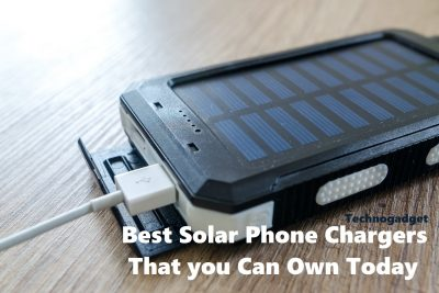 Best Solar Phone Chargers That you Can Own Today